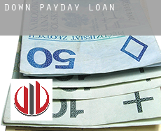 Down  payday loans