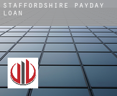 Staffordshire  payday loans