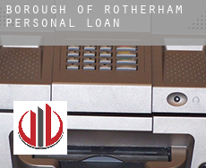 Rotherham (Borough)  personal loans