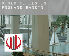 Other cities in England  banking