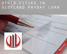 Other cities in Scotland  payday loans
